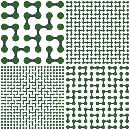 Maze. Vector set. Stock Vector - 7213000