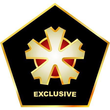 procent: Exclusive emblem.