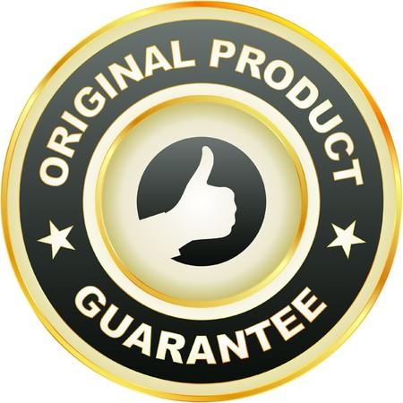 guarantee label.