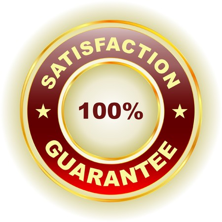 guarantee label.   Stock Vector - 7243092