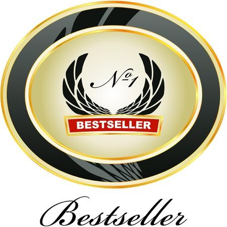medallion: Bestseller emblem.