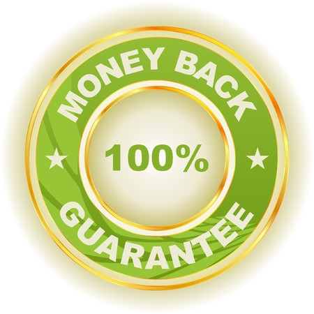 guarantee label. Stock Vector - 7243091