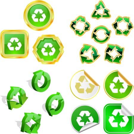 Recycle symbol. Stock Vector - 7243239