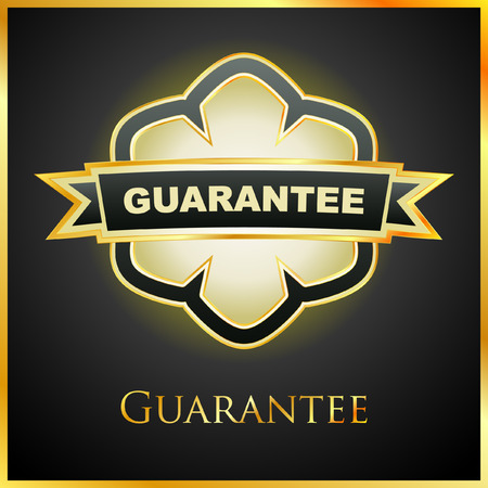 procent:  guarantee label.   Illustration