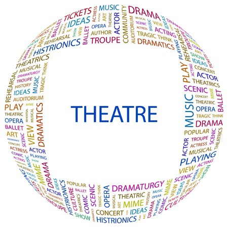 theatrics: THEATRE  Illustration