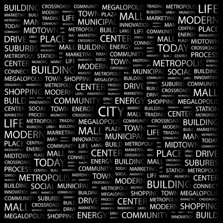 CITY.   Vector