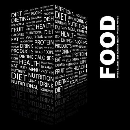 FOOD  Stock Vector - 7383387
