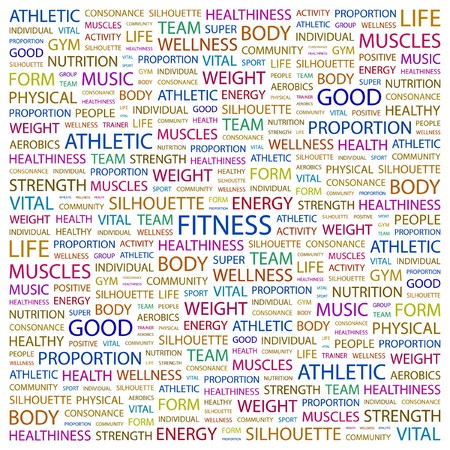 FITNESS  Stock Vector - 7383404