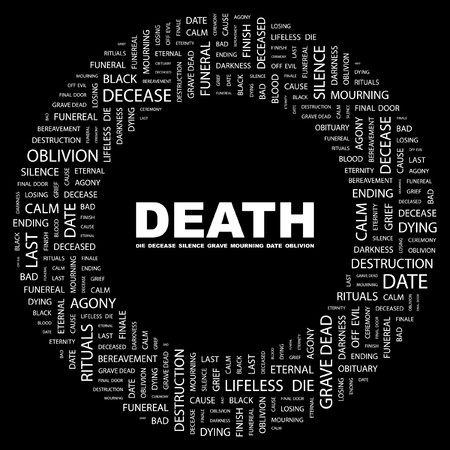 death and dying: DEATH