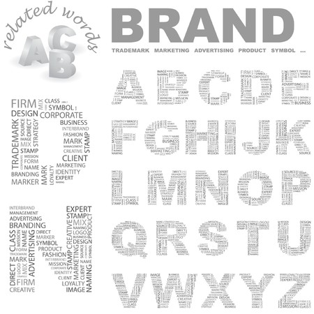 information technology logo: BRAND  Illustration