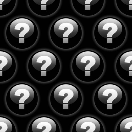 Seamless background with question sign.   Vector