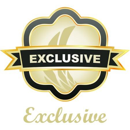 Exclusive vector emblem.   Vector