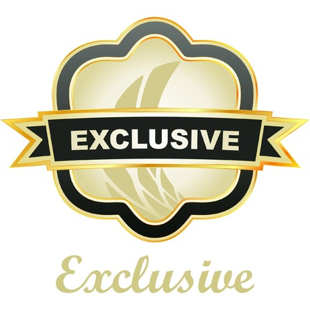 procent: Exclusive vector emblem.   Illustration