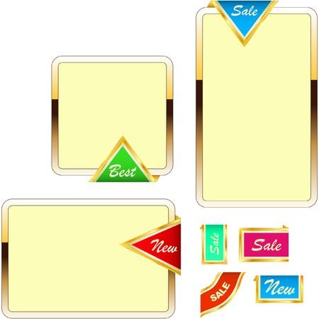 guaranree: Vector banner set for web