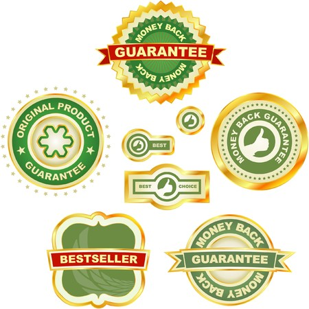 collection of sale labels Stock Vector - 7383460