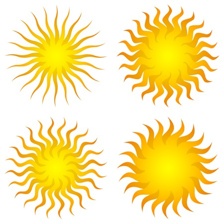 Sunburst abstract .   Stock Vector - 7482195