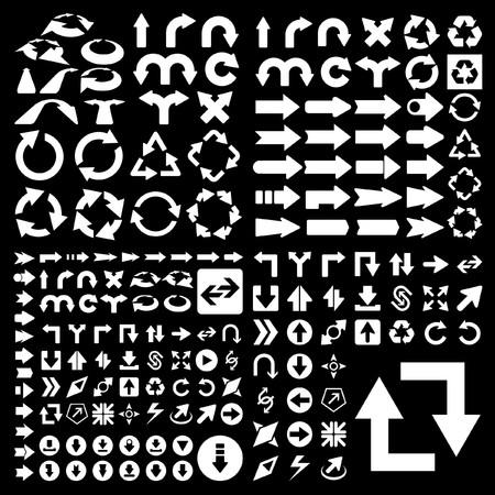 directiva: Un conjunto de �tiles de flechas.