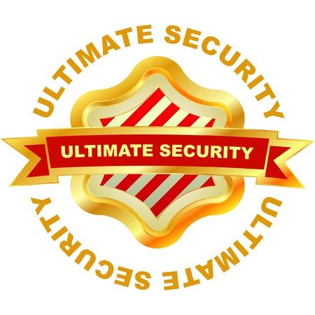 ultimate: Ultimate security.  Illustration