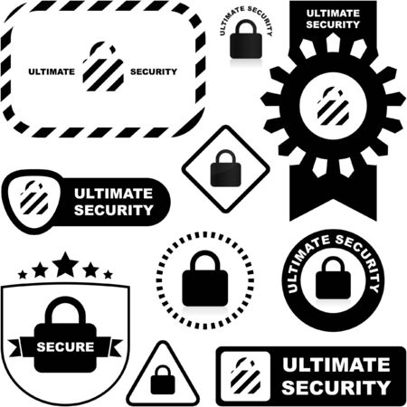 Lock sign. Stock Vector - 7493442
