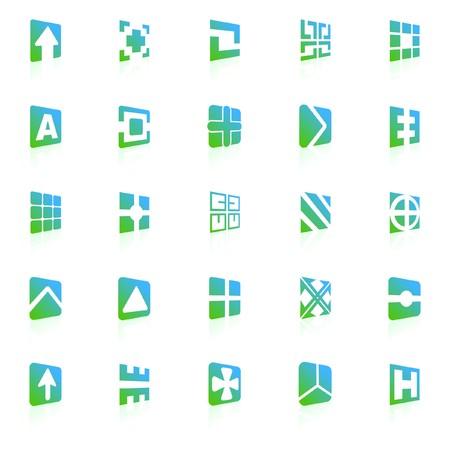 pictogram. Design element set.   Stock Vector - 7491352