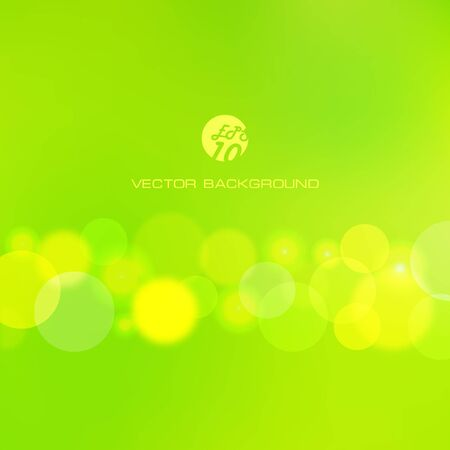 green abstract background.    Stock Vector - 7491363