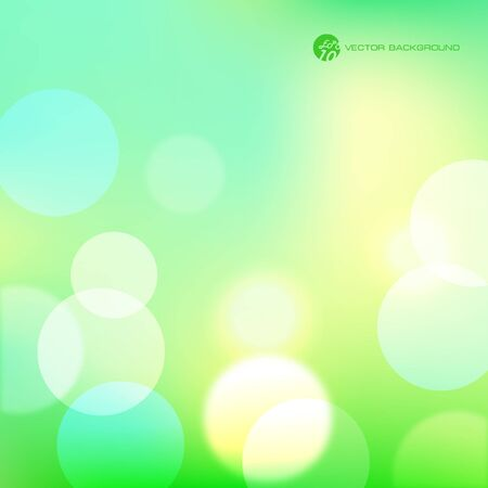 Green abstract  background.    Vector