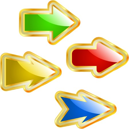 different courses: A  set of useful arrows.