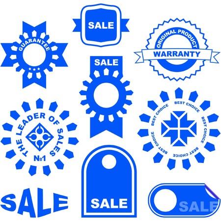 set of sale design elements. Stock Vector - 7550023