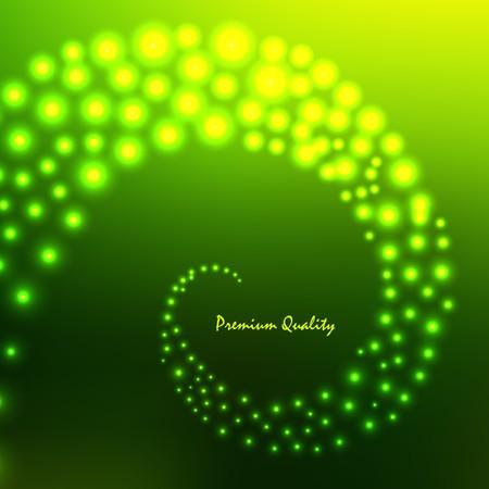 illustration. Green abstract light background. Stock Vector - 7550038