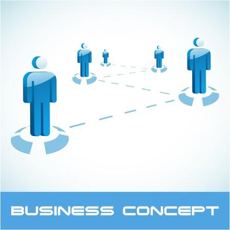 negotiations: Concepto de red. ilustraci�n.