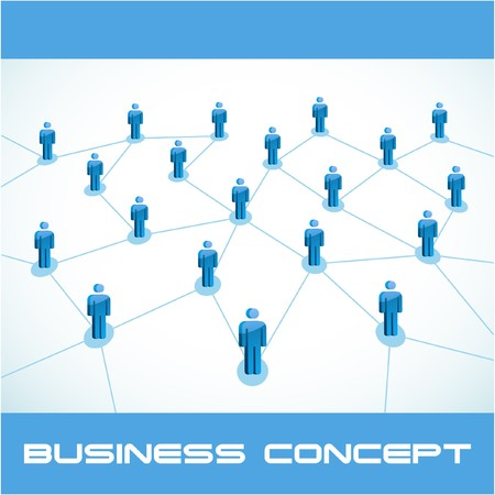 Network concept. illustration. Stock Vector - 7568194