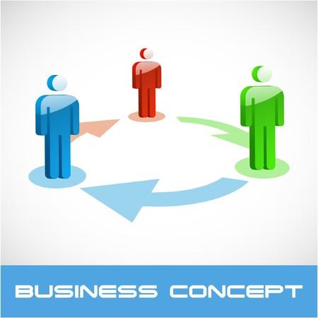 Network concept.  illustration. Stock Vector - 7568181