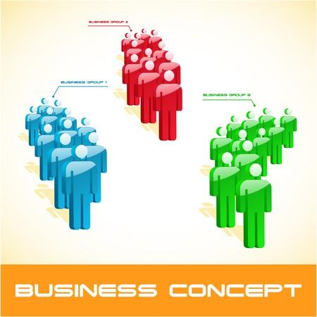 Network concept. illustration. Stock Vector - 7568365