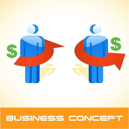 Business concept.   illustration.   Stock Vector - 7568279