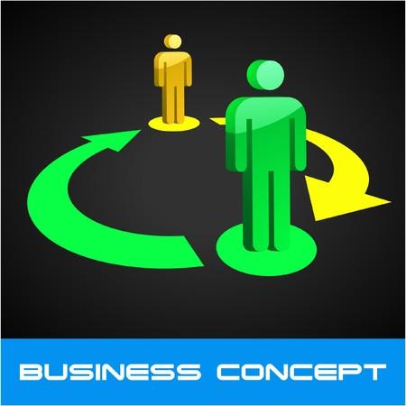 Network concept.   illustration.   Stock Vector - 7568278