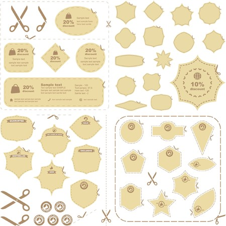 scissors with cut lines templates to choose from