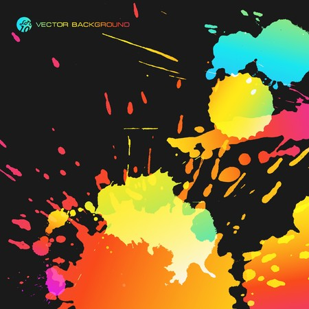 multi media: Colorato sfondo astratto. EPS10  Vettoriali