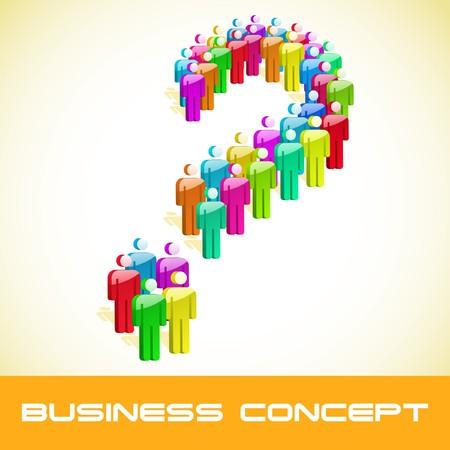 Question concept. Stock Vector - 7800515
