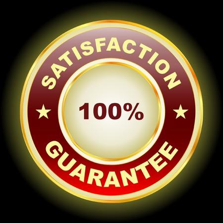 Guarantee label. Stock Vector - 7800509