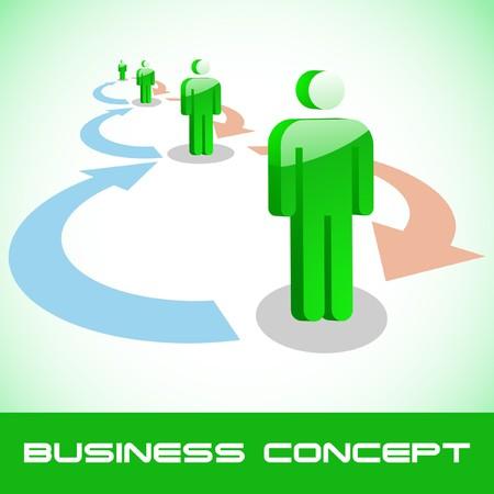 Network concept. Stock Vector - 7819599