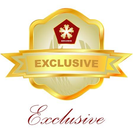 exclusive: Exclusive emblem.