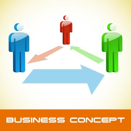 Network concept. Stock Vector - 7800916