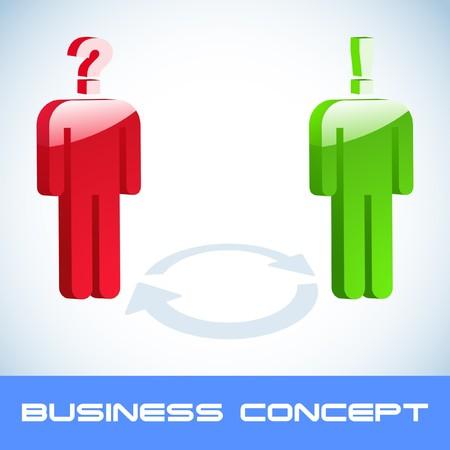 Question concept. Stock Vector - 7800574