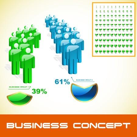 speaker system: Concepto de negocio.  Vectores