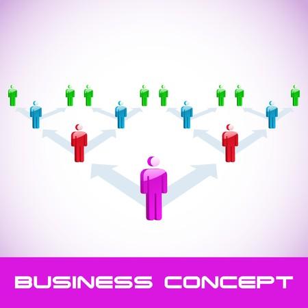 Network concept. Stock Vector - 7800901