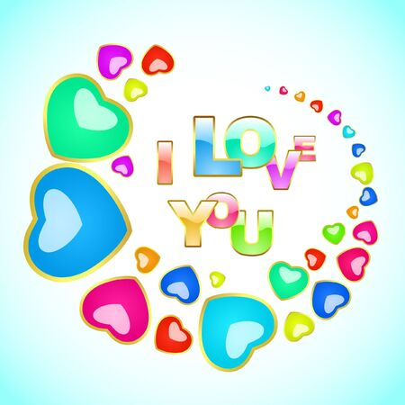 Love background.  Vector