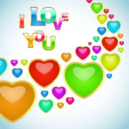 love background. Stock Vector - 7819606