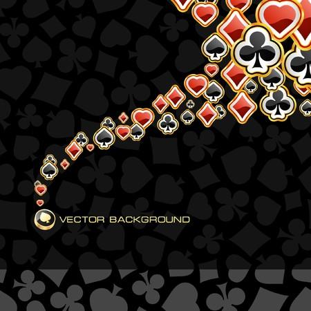 kartenspiel: Abstract Background with Karte passt.