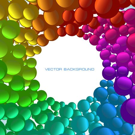 Colorful abstract background. Vector Illustration