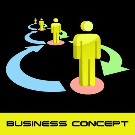 Network concept. Stock Vector - 7800570